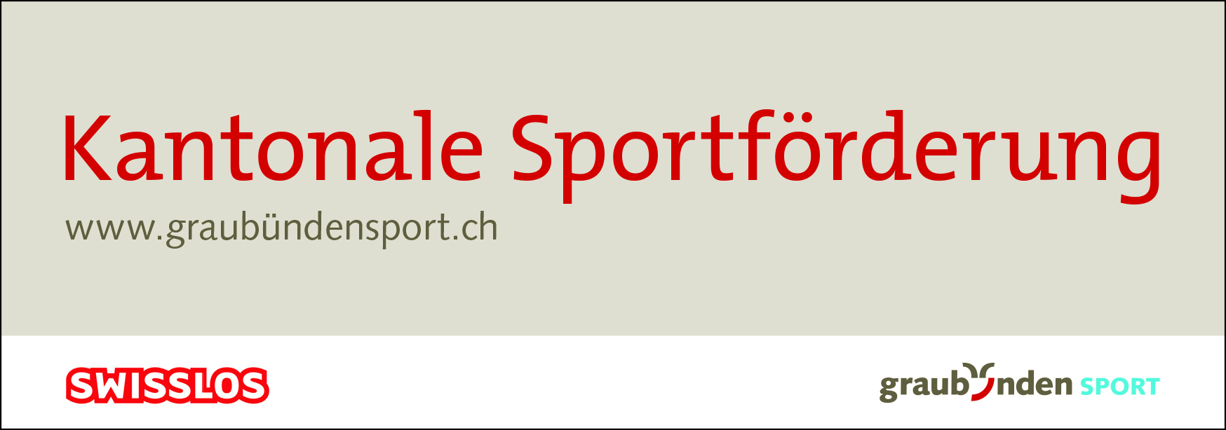 Kantonale Sportförderung Graubünden